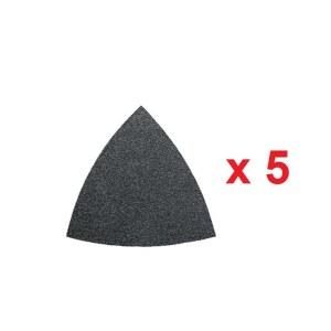 Sandpapir til deltaslipere Fein; P80; 5 stk