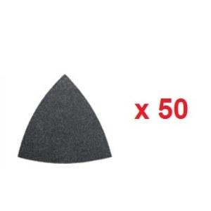 Sandpapir til deltaslipere Fein; P100; 50 stk