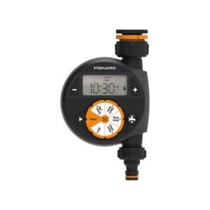 Vanningstimer Fiskars 1054791; 2xAA; (uten batteri og lader)