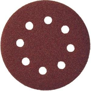 Sandpapir for eksenterslipere Klingspor; PS 22 K; GLS 5; 125 mm; K120; 5 stk