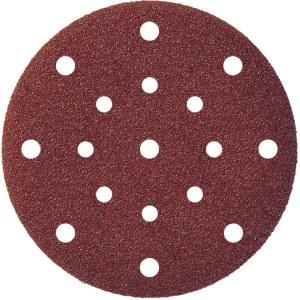 Sandpapir for eksenterslipere Klingspor; PS 22 K; 150 mm; K180; 5 stk
