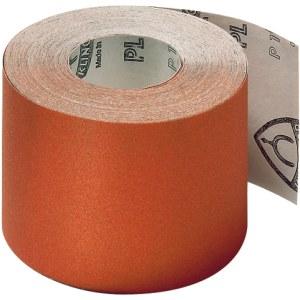 Slipede papirrull Klingspor; PL 31 B; 110x50000 mm; K120; 1 stk