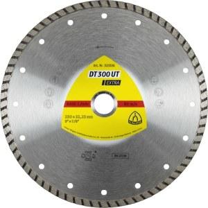 Diamantkappskive til våtskjæring Klingspor DT 300 UT Extra; 230x2,5x22,23 mm