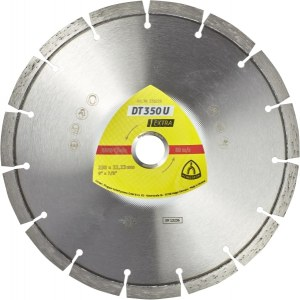 Diamantskive for tørrskjæring Klingspor DT 350 U Extra; 300x2,8x20,0 mm