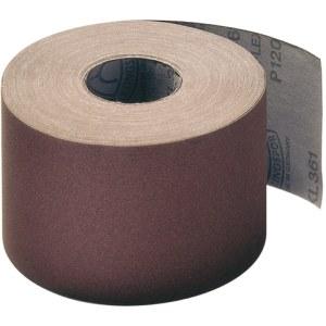 Slipede papirrull Klingspor; KL 361 JF; 110x50000 mm; K80; 1 stk