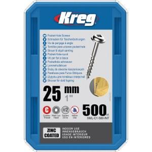 Treskru Kreg SML-C1; 1''; 25 mm; 500 stk