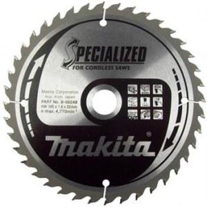 Sagblad for tre Makita; 165x1,6x20,0 mm; Z40; 18°