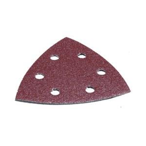 Sandpapir til deltaslipere 93x93 mm; P80; 10 stk