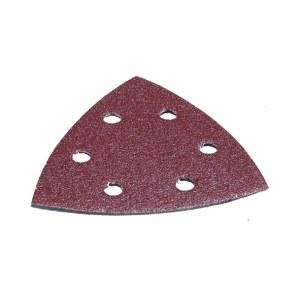 Sandpapir til deltaslipere 93x93 mm; P120; 10 stk