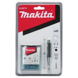 Skrutrekkersett Makita B-48789; 25 vnt.