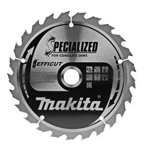 Sagblad for tre Makita EFFICUT; 165x1,4x20,0 mm; Z25; 23°