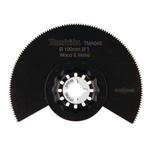 Halvrundt segmentsagblad Makita TMA046; Ø100 mm