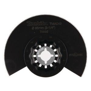 Halvrundt segmentsagblad Makita TMA049; Ø85 mm
