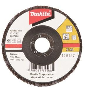 Lamellrondeller Makita D-27470; 125 mm