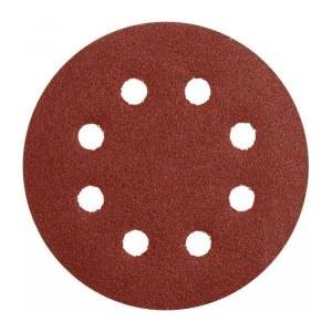 Sandpapir for eksenterslipere Makita D-54570; K320; 125 mm; 10 stk