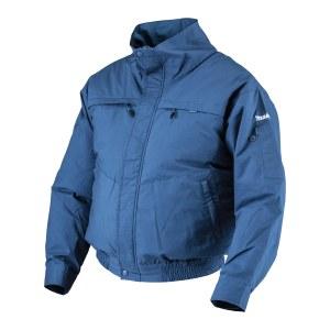 Ventilerende jakke Makita DFJ300ZXL; 10,8/14,4/18 V; XL (uten batteri og lader)