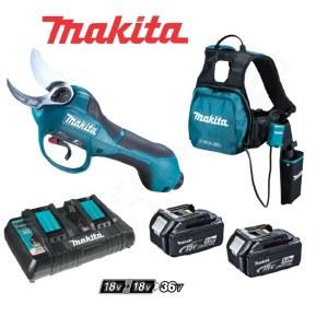 Beskjæringssaks Makita DUP361PT2; 36 V; 2x5,0 Ah batt.
