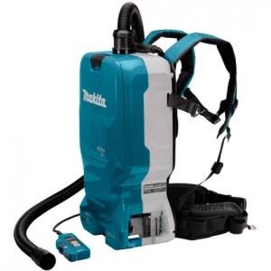 Batteridrevet støvsuger Makita DVC665ZU; 2x18 V (uten batteri og lader)