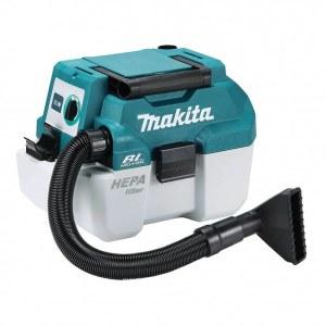 Støvsuger Makita DVC750LZ; 18 V; HEPA (uten batteri og lader)