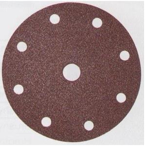 Sandpapir Velcro Backed 150 mm; K80; 10 stk
