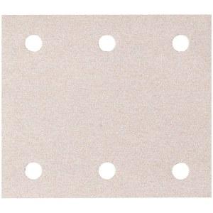 Sandpapir til planslipere 114x102 mm; P80; 10 stk
