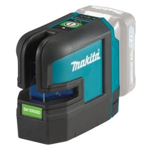 Krysslaser  Makita SK105GDZ; 10,8 V grønn (uten batteri og lader)