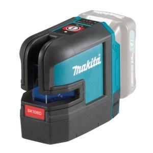 Krysslaser  Makita SK106DZ; 10,8 V (uten batteri og lader)