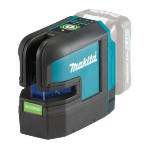 Krysslaser  Makita SK106GDZ; 10,8 V grønn (uten batteri og lader)