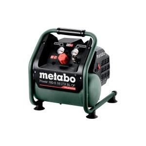 Akkumulator luftkompressor Metabo 160-5 18 LTX BL OF; 18 V (uten batteri og lader)