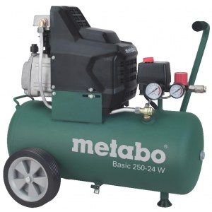 Oljesmurt luftkompressor Metabo Basic 250-24 W