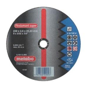 Abrasiv kappeskive Metabo; 230x2,5 mm for metall