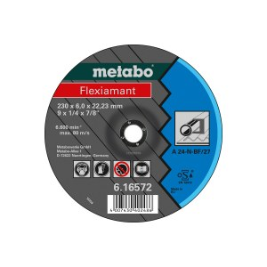 Slipeskive Metabo A 24-N; 125x6 mm; 1 stk