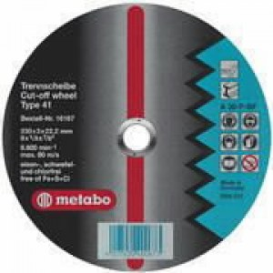 Slipeskive Metabo A30-O; 125x6 mm