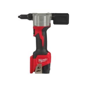 Ledningsløs naglepistol Milwaukee M12 BPRT-201X; 12 V; 1x2,0 Ah batteri + lader