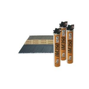 Spiker Paslode; 2,8x63 mm; 34; 3300 stk.; svart; rett
