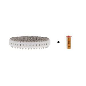 Spiker Paslode 142200; 2,8x25 mm; 1000 stk; galvanisert
