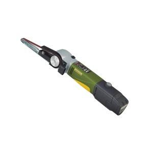 Båndsliper Proxxon BS/A; 10,8 V; 1x2,6 Ah batteri.; batteridrevet