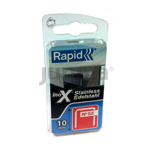 Klammer Rapid;11,4x8 mm; 1080 stk; type 53; rustfritt stål