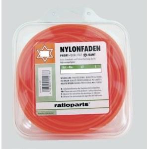 Trimmertråd Nylon line (1,6 mm/15 m) rød, sekskantet