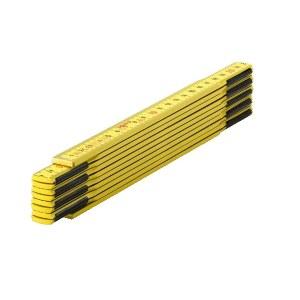 Tre sammenleggbar linjal Sola HG 2/10; 2 m