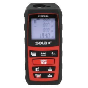 Laseravstandsmåler Sola Vector 80
