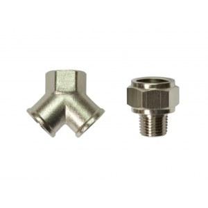 Trykkluft adapter med koblinger  Stanley 156128XSTN