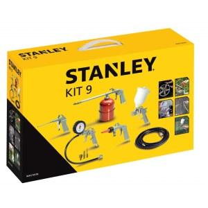 Kompressorsett til maling og blåsing Stanley KIT9