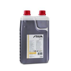 Olje til brenselsblanding for totaktsmotorer Stiga 1111923001; 1L (med fordeler)