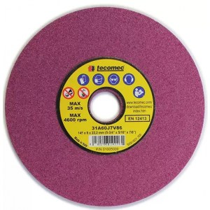 Slipeskive Tecomec ET-K00204008; 145x8,0x22,2 mm; 1 stk