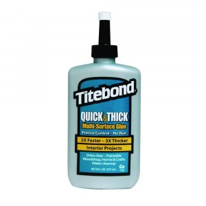Universallim Titebond Quick & Thick Multi-Surface Glue; 237 ml