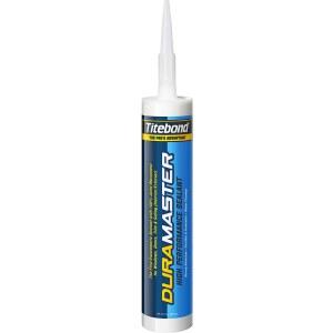 Tetningsmiddel for innendørs og utendørs arbeid Titebond DuraMaster White; 300 ml; hvit
