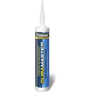 Tetningsmiddel for innendørs og utendørs arbeid Titebond DuraMaster Gray; 300 ml; grå