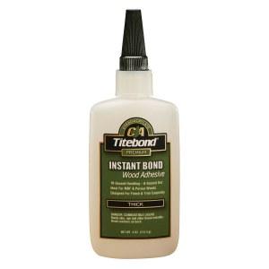Universal hurtiglim Titebond Instant Bond Thick; 118 ml; viskøs