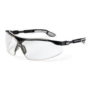 Vernebriller Uvex i-vo; Supravision excellence; klar; svart / grå